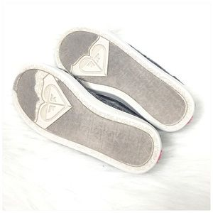 Roxy Shoes - Girls Roxy Slip On Gray Sneakers Size 1
